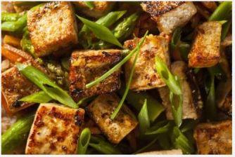 Le tofu aux herbes de Provence