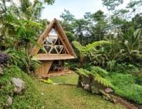 L'éco bamboo home, une cabane tropicale à Bali
