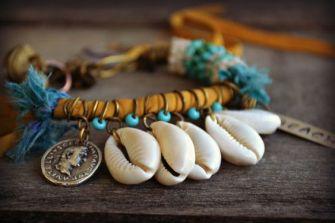 Des bijoux en coquillage pour prolonger les vacances !