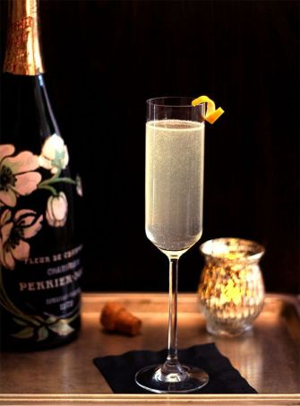 French 75, un cocktail au champagne