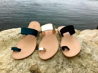 Théluto : Des sandales en cuir aussi belles que confortables