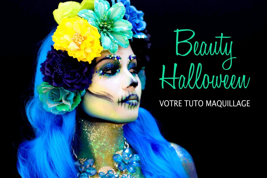 Beauty Halloween – Tuto maquillage Audrey Bodilis