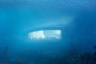 Un restaurant immergé sous la mer ouvrira ses portes en Norvège