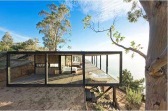 Villa en bois : Casa Till par WMR Arquitectos, Chili