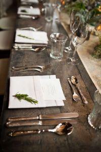 Une table raffinée au décor rustique chic pour Noël 17