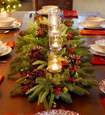 Une table raffinée au décor rustique chic pour Noël 20