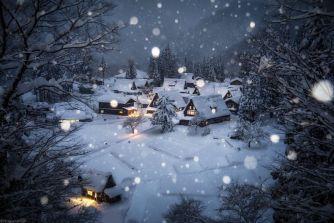 Ce photographe capture la beauté du Japon sous la neige