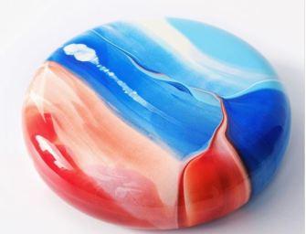 Les merveilleux Mirror Cakes colorés de l'artiste pâtissière Ksenia Penkina