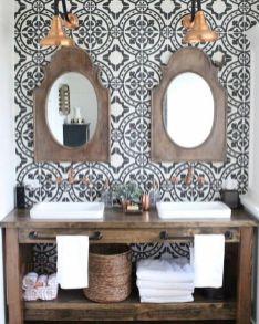 Mosaique Noir et blanc - salle de bain (4)