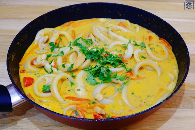 Poelée calamar coco curry 3 CB 750pix
