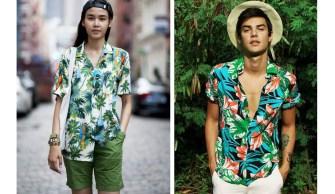 La chemise hawaiienne, l'histoire de rencontres culturelles
