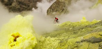 Les spots de rêve du moutain bikeur MIKE HOPKINS