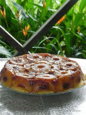 Le gâteau à l'ananas de nos grand-mères