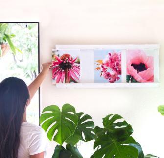 DIY : Comment réaliser un cadre photos en forme de diaporama ?
