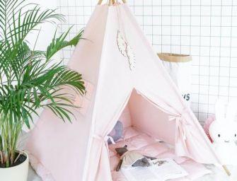 DIY : Fabriquer un tipi pour enfants