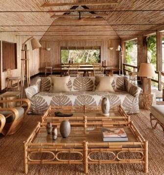 Une maison toute en bambou, le rêve !