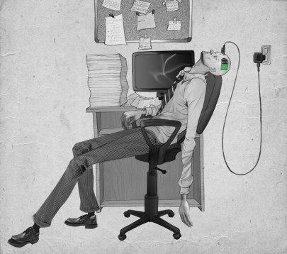 L'illustrateur Al Margen dessine l'envers du décor de notre société 12