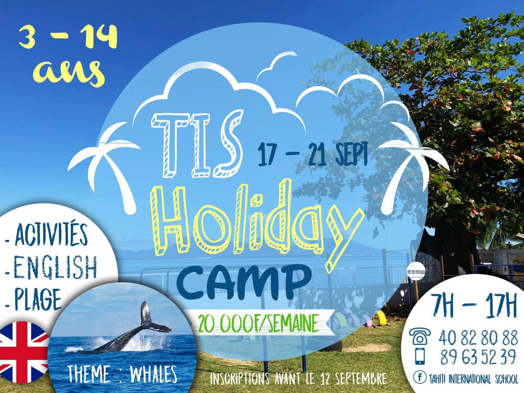 TIS HOLIDAY CAMP SEPT 2018