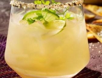 Cocktail Tequila, mangue et citron vert