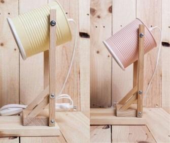 DIY : Comment recycler vos boites de conserves en lampes ?