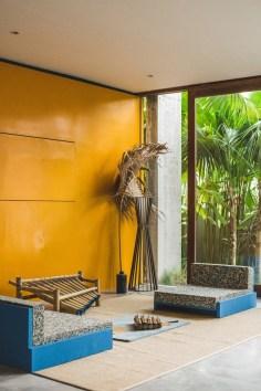Brutalist Tropical House à Bali (16)