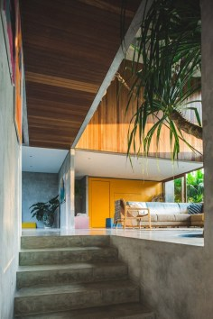 Brutalist Tropical House à Bali (6)