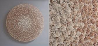 Des sculptures spectaculaires formées à partir de milliers de coquillages