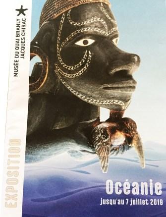 Océanie, vernissage d'une exposition ouverte jusqu'au 7 juillet 2019.