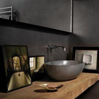 Salle de bain en béton et en bois (9)