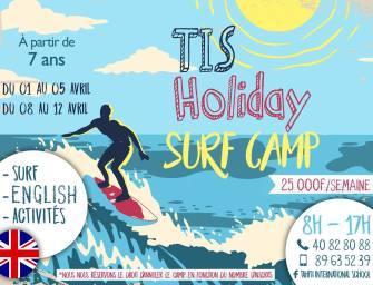 TIS Holiday Surf Camp : Une semaine bilingue de vacances et de surf