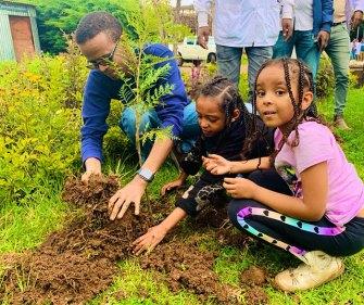 L'Éthiopie bat le record mondial en plantant 350 millions d'arbres en 12 heures