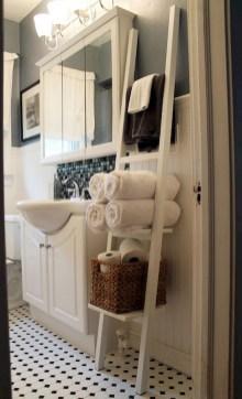 Des idées deco pour votre petite salle de bain (29)
