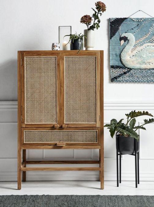 Les meubles en rotin, bambou tissés (13)