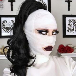 Halloween make up 2019 (4)