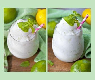 Mojito à la noix de coco glacée