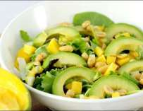 Salade mangue-avocat façon thaï