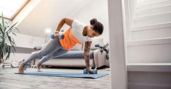 8 exercices à faire à domicile pour renforcer le haut du corps