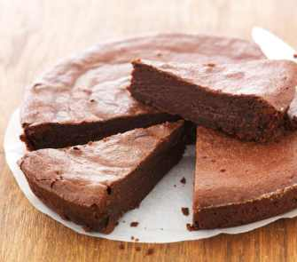 Un gâteau au chocolat sans œuf