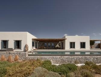 Une superbe villa sur l'île grecque de Mykonos par K-Studio