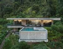 Art Villa, une maison nichée dans la jungle du Costa Rica par Formafatal et Refuel Works