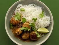 Les boulettes de poulet à la thaï