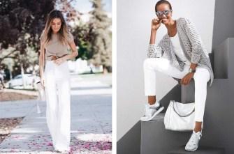 Comment bien porter le pantalon blanc ?