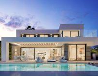 Une superbe villa moderne à Marbella