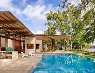 La Villa sur le Lac par Parallèle Architecte