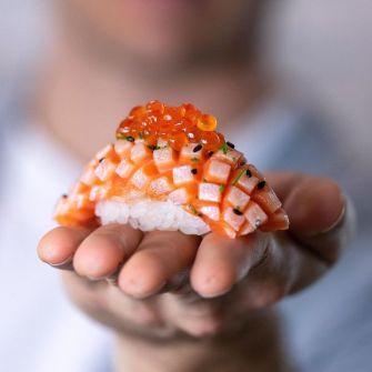 Sushiartisan, un ancien graphiste devient maitre Sushi et c'est spectaculaire