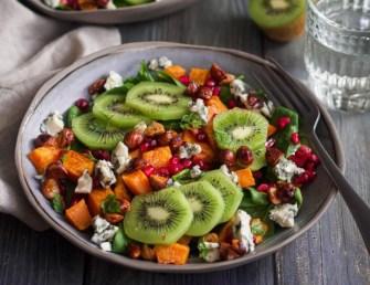 Salade de kiwi et patate douce