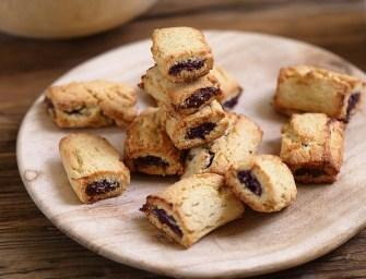 Biscuits fourrés aux figues façon Figolu