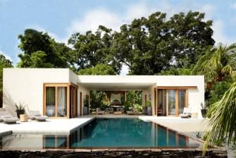 Une maison paradisiaque au bord de la mer