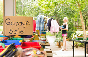 Throwing a Garage Sale? Use this Foolproof Checklist