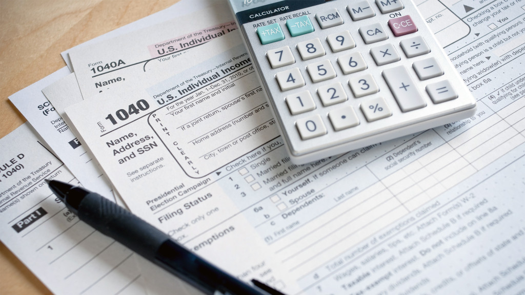 tax form deductions
